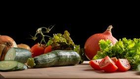 świeże warzywa owocowe obrazy stock