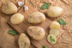 świeże ziemniaki Obraz Stock