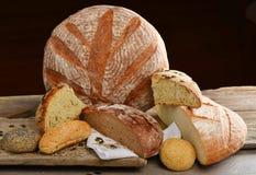 Świeżego chleba wybór Obraz Royalty Free