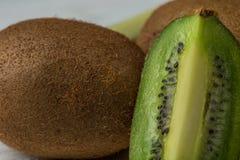 Świeżego Kiwifruit lub Chińskiego agresta zbliżenia wizerunek Obraz Royalty Free