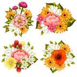 Świeżego kwiatu tło Zdjęcia Royalty Free
