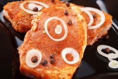 świeżego mięsa pikantność Obrazy Stock