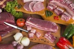 świeżego mięsa, stark Zdjęcia Royalty Free