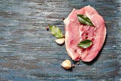 świeżego mięsa surowy stek Zdjęcie Stock