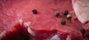 Świeżego mięsa wołowina servitor zdjęcie stock