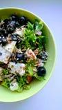 Świeżego warzywa grka sałatka obrazy stock