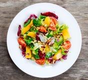 Świeżego warzywa mieszanki Mangowa sałatka Obraz Royalty Free