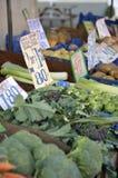 Świeżego warzywa rynku kram Obraz Royalty Free