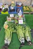 Świeżego warzywa rynku kram Obraz Stock