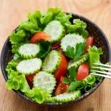 Świeżego warzywa sałatka Zdjęcie Stock