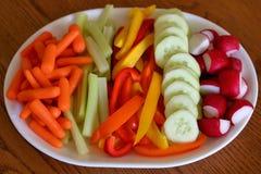Świeżego warzywa taca Zdjęcie Royalty Free