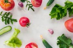 Świeżego warzywa wzór obrazy royalty free