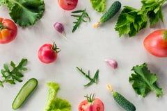Świeżego warzywa wzór zdjęcie stock