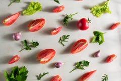 Świeżego warzywa wzór obraz stock