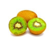 świeżej owoc odosobniony kiwi fotografia stock