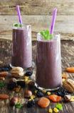 świeżej owoc smoothies Fotografia Royalty Free