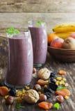 świeżej owoc smoothies Zdjęcia Royalty Free