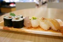 Świeżość suszi Japoński karmowy set obraz stock