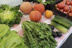 Świeżość warzywa Zdjęcia Royalty Free