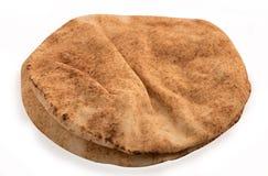 Świeżo piec arabskiego płaskiego chleba nazwani kuboos zdjęcia stock