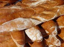 Świeżo piec i crunchy baguettes Obraz Stock
