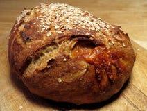 Świeżo piec serowy chleb obraz royalty free