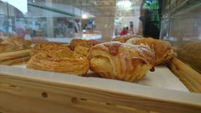 Świeżo piec Szkocki Stylowy ciasto i chleb obrazy royalty free