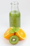 Świeżo przygotowany owocowy sok fotografia royalty free