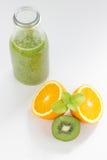Świeżo przygotowany owocowy sok obraz royalty free