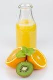 Świeżo przygotowany owocowy sok obraz stock