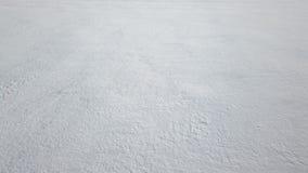 Świeży śnieżny tło zdjęcie wideo