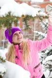 świeży śnieg fotografia royalty free