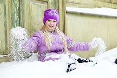 świeży śnieg zdjęcie stock