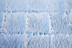 świeży śnieg Zdjęcia Royalty Free