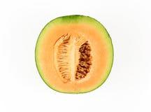Świeży żółty melon lub kantalup obraz royalty free