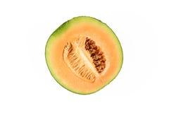 Świeży żółty melon lub kantalup zdjęcie stock