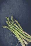 Świeży życiorys zielony asparagus Obrazy Stock