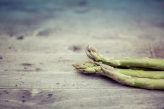 Świeży życiorys zielony asparagus Obraz Royalty Free