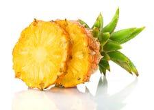 świeży ananasowy plasterek Zdjęcie Stock