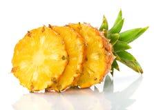 świeży ananasowy plasterek Zdjęcie Royalty Free