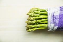 Świeży asparagus Zdjęcia Royalty Free