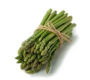 Świeży asparagus na bielu Obraz Stock
