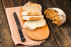 Świeży Biały chleb Zdjęcia Royalty Free