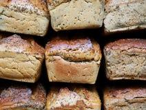 świeży chleb kwadratowy stock images