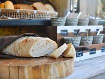Świeży chleb z robić dżemami zdjęcie royalty free
