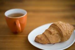 Świeży croissant zdjęcia royalty free