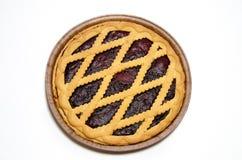 świeży czarna jagoda kulebiak Obrazy Stock