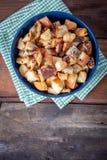 Świeży Domowej roboty chleba crouton obraz stock