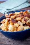Świeży Domowej roboty chleba crouton zdjęcia royalty free