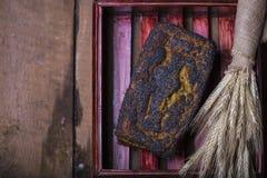 Świeży Domowej roboty Makowego ziarna chleb Zdjęcie Royalty Free